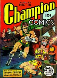 Cover Thumbnail for Champion Comics (Worth Carnahan, 1939 series) #10