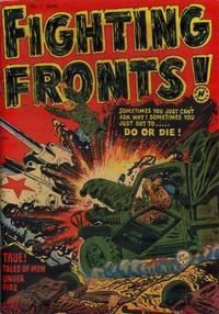 Cover Thumbnail for Fighting Fronts (Harvey, 1952 series) #1