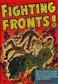 Cover Thumbnail for Fighting Fronts (Harvey, 1952 series) #3