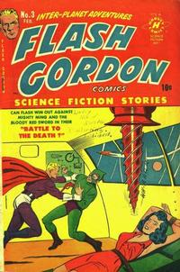 Cover Thumbnail for Flash Gordon (Harvey, 1950 series) #3
