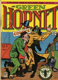 Cover Thumbnail for Green Hornet Comics (Temerson / Helnit / Continental, 1940 series) #4