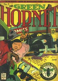 Cover for Green Hornet Comics (Temerson / Helnit / Continental, 1940 series) #5