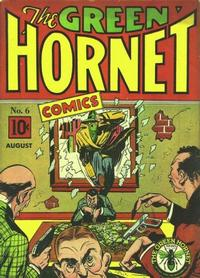 Cover Thumbnail for Green Hornet Comics (Temerson / Helnit / Continental, 1940 series) #6