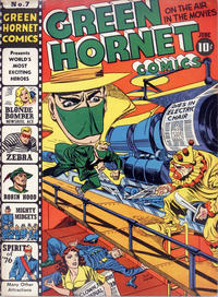 Cover Thumbnail for Green Hornet Comics (Harvey, 1942 series) #v2#7 (7)