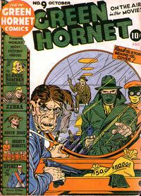 Cover Thumbnail for Green Hornet Comics (Harvey, 1942 series) #9
