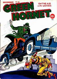 Cover Thumbnail for Green Hornet Comics (Harvey, 1942 series) #10