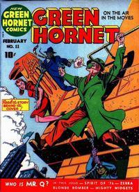 Cover Thumbnail for Green Hornet Comics (Harvey, 1942 series) #11
