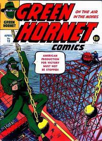 Cover Thumbnail for Green Hornet Comics (Harvey, 1942 series) #12