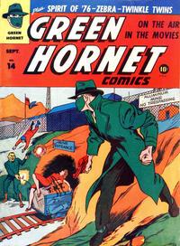 Cover Thumbnail for Green Hornet Comics (Harvey, 1942 series) #14