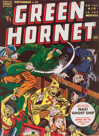 Cover Thumbnail for Green Hornet Comics (Harvey, 1942 series) #15