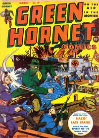Cover Thumbnail for Green Hornet Comics (Harvey, 1942 series) #17