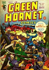 Cover Thumbnail for Green Hornet Comics (Harvey, 1942 series) #19