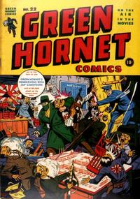 Cover Thumbnail for Green Hornet Comics (Harvey, 1942 series) #22