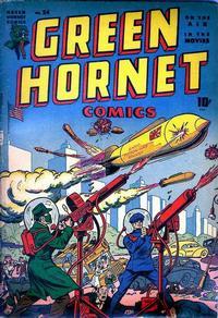 Cover Thumbnail for Green Hornet Comics (Harvey, 1942 series) #24