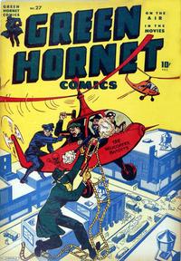 Cover Thumbnail for Green Hornet Comics (Harvey, 1942 series) #27