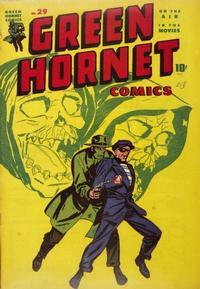 Cover Thumbnail for Green Hornet Comics (Harvey, 1942 series) #29