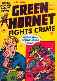 Cover Thumbnail for Green Hornet Comics (Harvey, 1947 series) #34