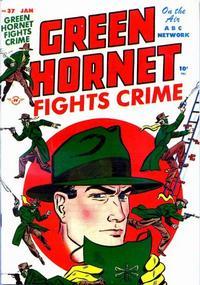 Cover Thumbnail for Green Hornet Comics (Harvey, 1947 series) #37