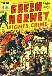 Cover Thumbnail for Green Hornet Comics (Harvey, 1947 series) #42