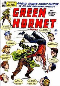 Cover Thumbnail for Green Hornet Comics (Harvey, 1947 series) #43