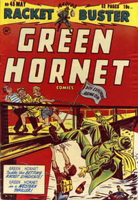 Cover Thumbnail for Green Hornet, Racket Buster (Harvey, 1949 series) #45