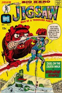 Cover Thumbnail for Jigsaw (Harvey, 1966 series) #2
