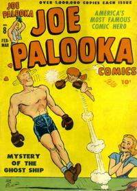 Cover Thumbnail for Joe Palooka Comics (Harvey, 1945 series) #8