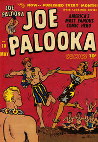 Cover Thumbnail for Joe Palooka Comics (Harvey, 1945 series) #10