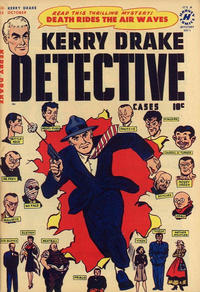 Cover Thumbnail for Kerry Drake Detective Cases (Harvey, 1948 series) #22