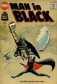 Cover Thumbnail for Man in Black (Harvey, 1957 series) #3