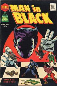 Cover Thumbnail for Man in Black (Harvey, 1957 series) #4