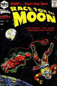 Cover for Race for the Moon (Harvey, 1958 series) #1