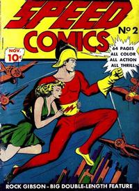 Cover Thumbnail for Speed Comics (Brookwood, 1939 series) #2
