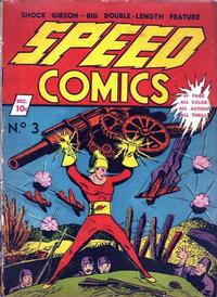 Cover Thumbnail for Speed Comics (Brookwood, 1939 series) #3