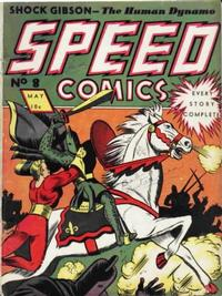 Cover Thumbnail for Speed Comics (Brookwood, 1939 series) #8