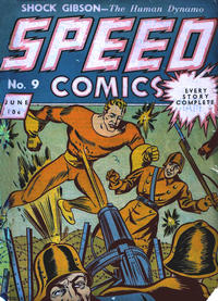 Cover Thumbnail for Speed Comics (Brookwood, 1939 series) #9