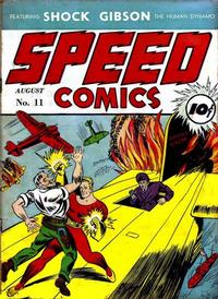 Cover Thumbnail for Speed Comics (Brookwood, 1939 series) #11