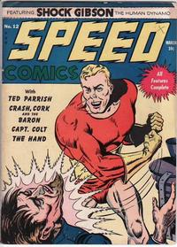Cover Thumbnail for Speed Comics (Harvey, 1941 series) #12