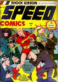 Cover Thumbnail for Speed Comics (Harvey, 1941 series) #13