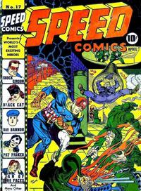 Cover Thumbnail for Speed Comics (Harvey, 1941 series) #17