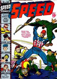 Cover Thumbnail for Speed Comics (Harvey, 1941 series) #20