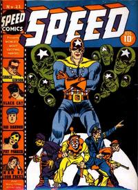 Cover Thumbnail for Speed Comics (Harvey, 1941 series) #21