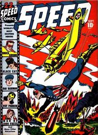 Cover Thumbnail for Speed Comics (Harvey, 1941 series) #22