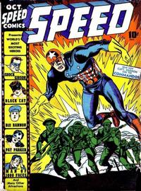 Cover Thumbnail for Speed Comics (Harvey, 1941 series) #23