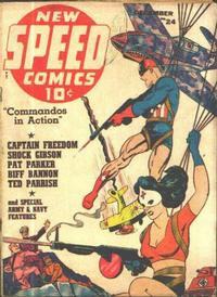 Cover Thumbnail for Speed Comics (Harvey, 1941 series) #24