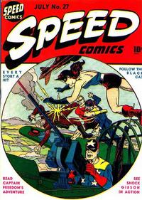 Cover Thumbnail for Speed Comics (Harvey, 1941 series) #27