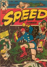 Cover Thumbnail for Speed Comics (Harvey, 1941 series) #30