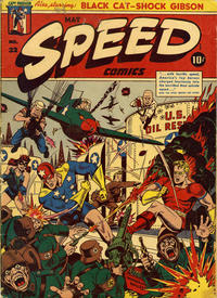 Cover Thumbnail for Speed Comics (Harvey, 1941 series) #32