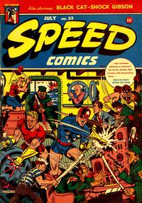 Cover Thumbnail for Speed Comics (Harvey, 1941 series) #33