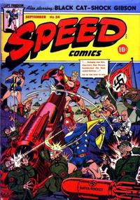 Cover Thumbnail for Speed Comics (Harvey, 1941 series) #34